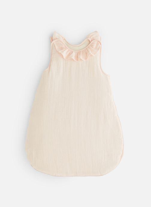 Vêtements Cyrillus Gigoteuse Volant Smooth Blanc vue détail/paire