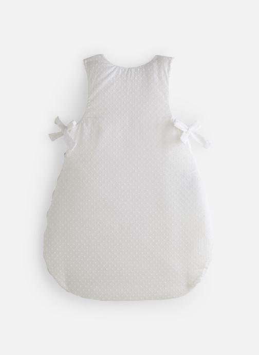 Vêtements Cyrillus Gigoteuse Plumetis Blanc vue bas / vue portée sac