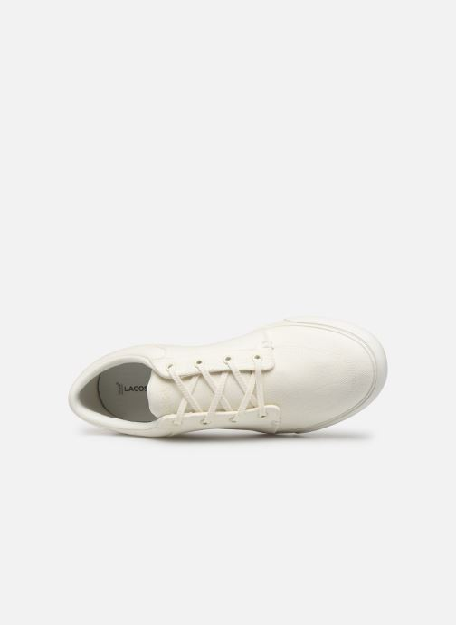 Baskets Lacoste Bayliss 219 1 Cma Blanc vue gauche