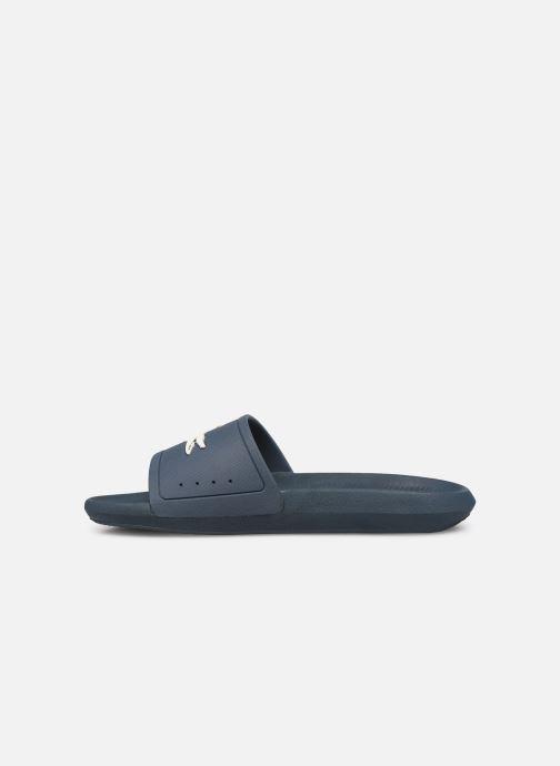 Sandales et nu-pieds Lacoste Croco Slide 219 1 Cma Bleu vue face
