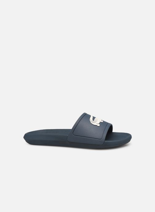 Sandales et nu-pieds Lacoste Croco Slide 219 1 Cma Bleu vue derrière