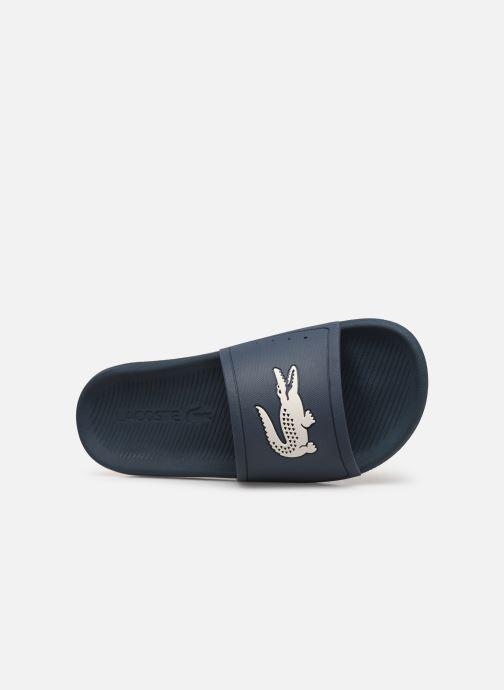 Sandales et nu-pieds Lacoste Croco Slide 219 1 Cma Bleu vue gauche