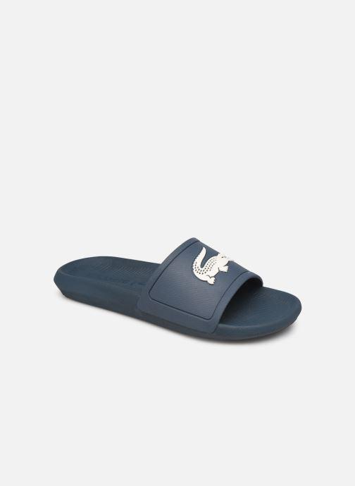 Sandales et nu-pieds Lacoste Croco Slide 219 1 Cma Bleu vue détail/paire