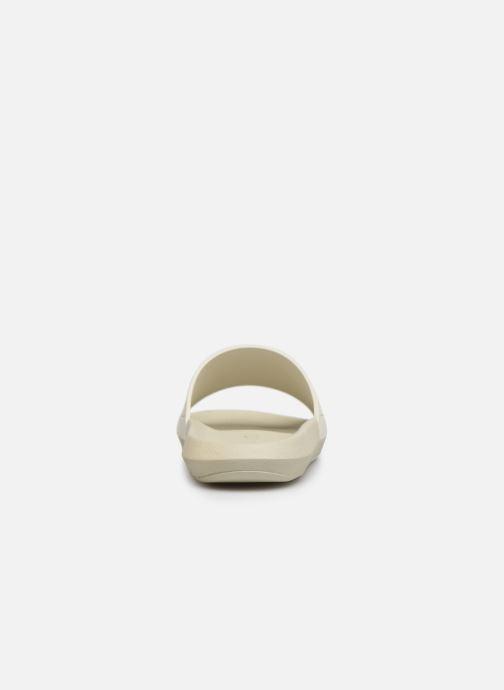 Sandales et nu-pieds Lacoste Croco Slide 219 1 Cma Blanc vue droite
