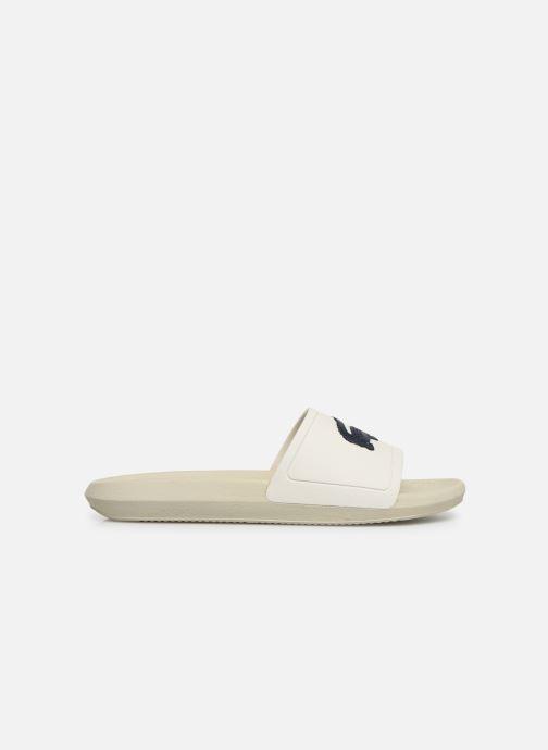 Sandales et nu-pieds Lacoste Croco Slide 219 1 Cma Blanc vue derrière