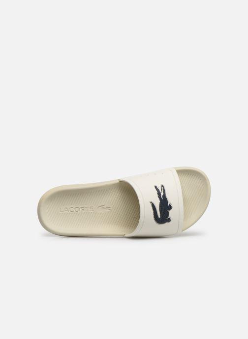 Sandales et nu-pieds Lacoste Croco Slide 219 1 Cma Blanc vue gauche