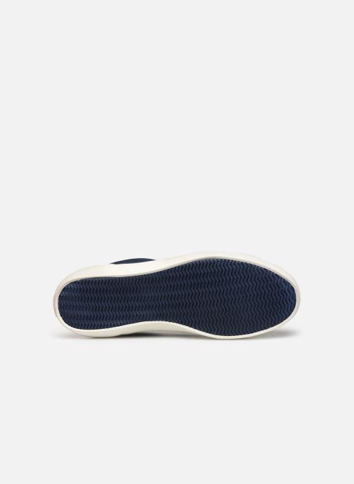 Baskets Lacoste Lerond 219 1 Cma Bleu vue haut