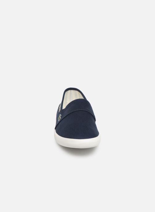 Baskets Lacoste Marice 219 1 Cma Bleu vue portées chaussures