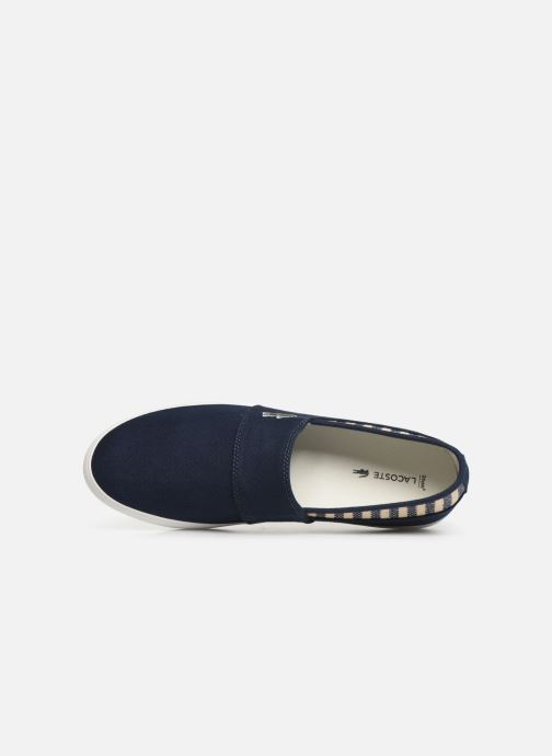 Trainers Lacoste Marice 219 1 Cma Blue view from the left