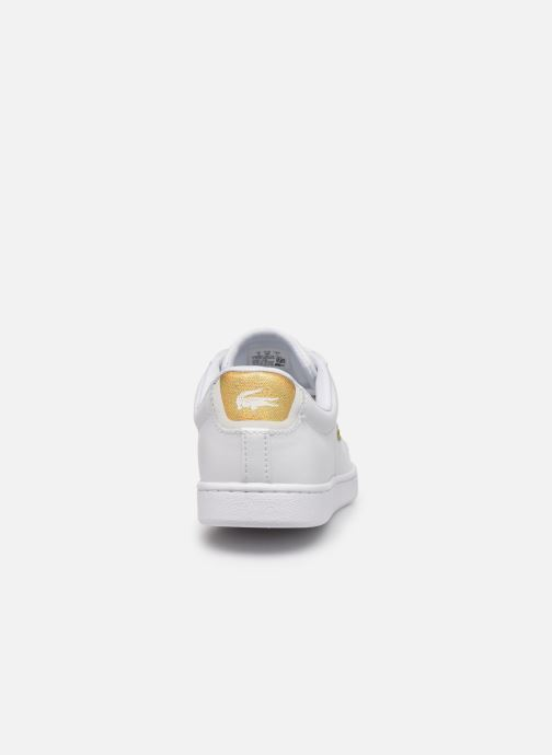 Baskets Lacoste Carnaby Evo 219 1 Sfa Blanc vue droite