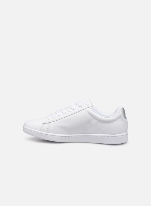 Baskets Lacoste Carnaby Evo 219 1 Sfa Blanc vue face