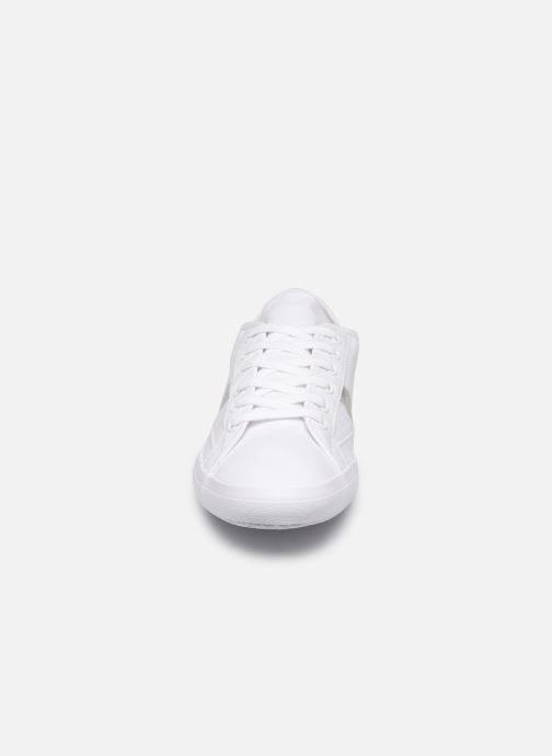 Baskets Lacoste Sideline 219 1 Cfa Blanc vue portées chaussures