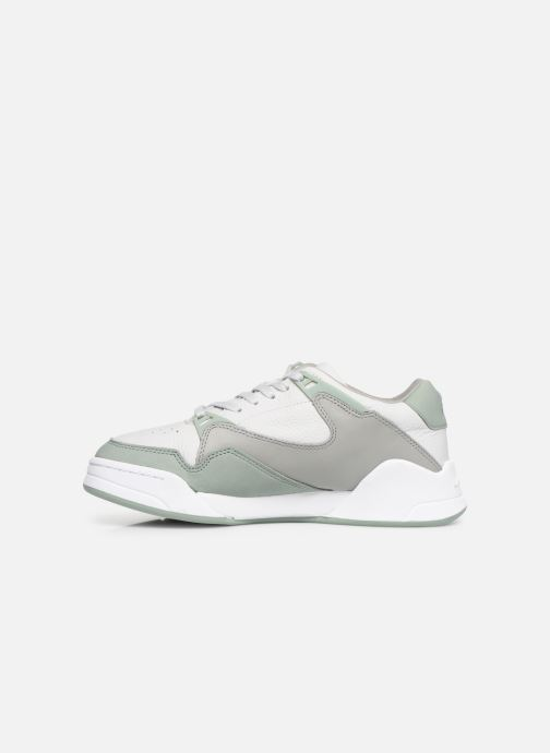 Baskets Lacoste Court Slam Gris vue face