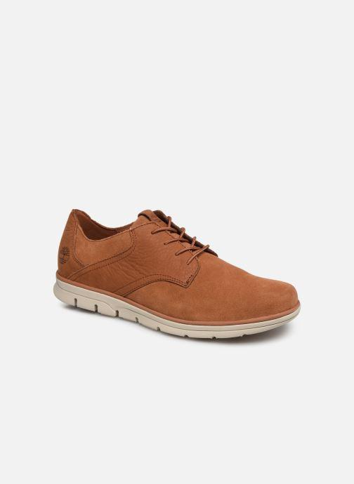 Sneakers Timberland Bradstreet Mixed Media Ox Bruin detail