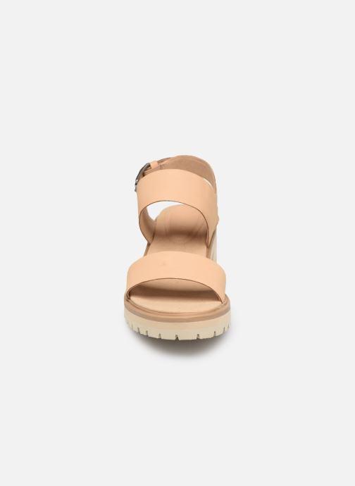 Sandali e scarpe aperte Timberland Violet Marsh 2-Band Sandal Beige modello indossato