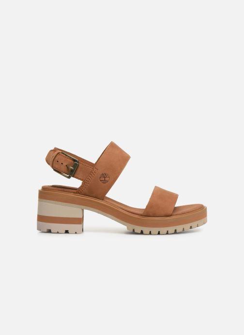 Sandales et nu-pieds Timberland Violet Marsh 2-Band Sandal Marron vue derrière