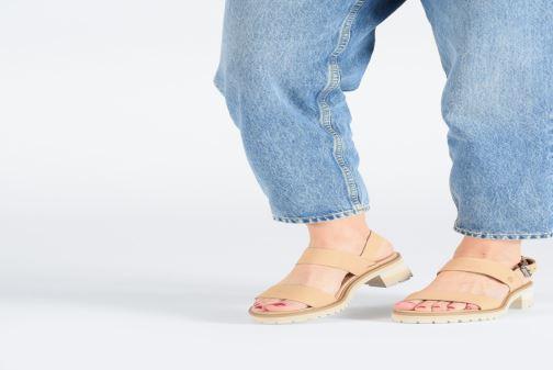 Sandales et nu-pieds Timberland Violet Marsh 2-Band Sandal Gris vue bas / vue portée sac