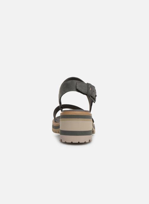 Sandales et nu-pieds Timberland Violet Marsh 2-Band Sandal Gris vue droite