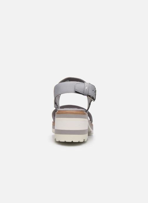 Sandalen Timberland Violet Marsh 2-Band Sandal grau ansicht von rechts