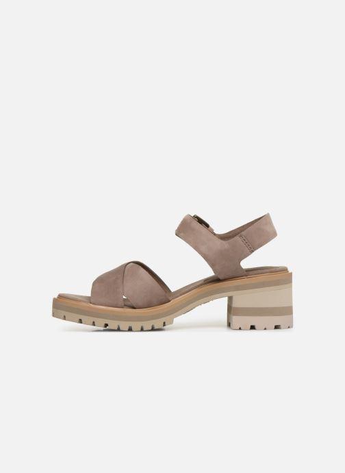 Sandales et nu-pieds Timberland Violet Marsh Cross Band Sandal Gris vue face