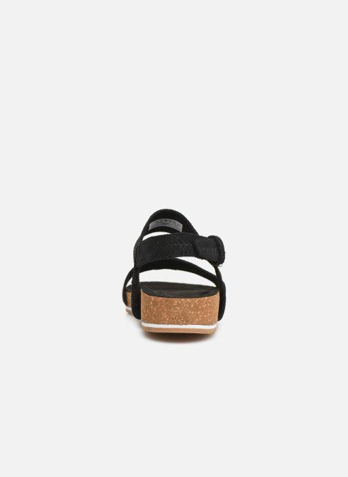Sandali e scarpe aperte Timberland Malibu Waves 2 Band Sandal Nero immagine destra