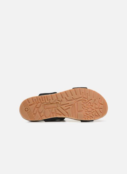 Sandales et nu-pieds Timberland Malibu Waves 2 Band Sandal Noir vue haut