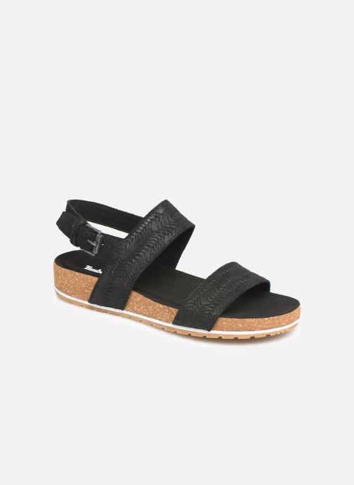 Sandales et nu-pieds Timberland Malibu Waves 2 Band Sandal Noir vue détail/paire