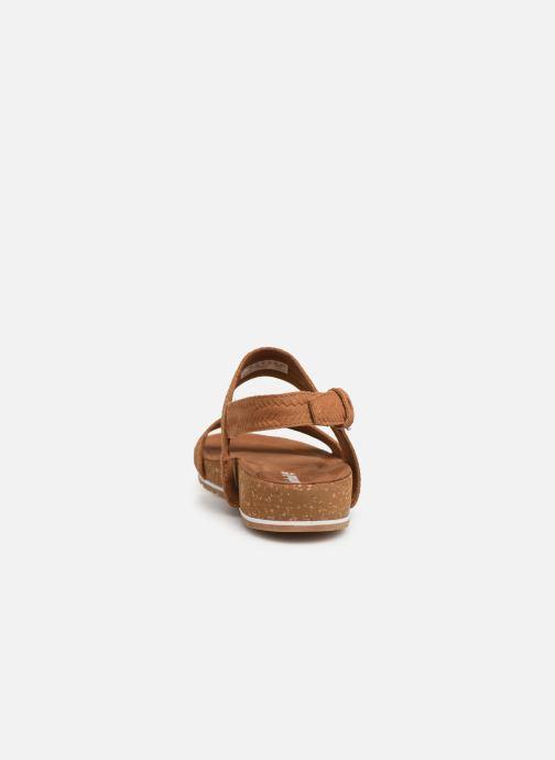 Sandali e scarpe aperte Timberland Malibu Waves 2 Band Sandal Marrone immagine destra