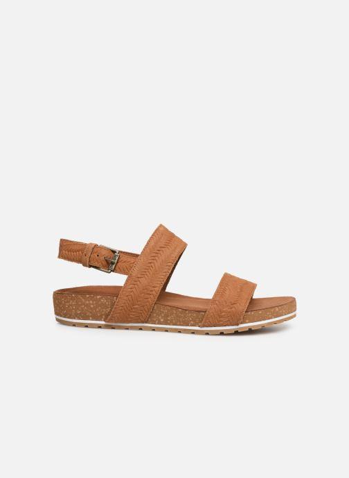 Sandali e scarpe aperte Timberland Malibu Waves 2 Band Sandal Marrone immagine posteriore