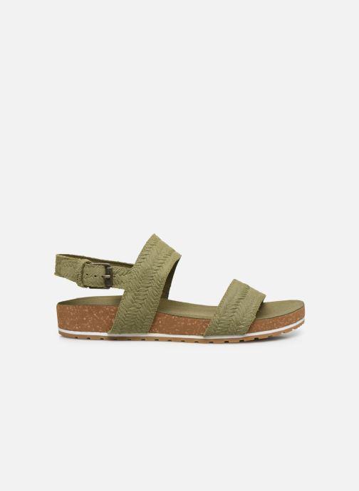Sandali e scarpe aperte Timberland Malibu Waves 2 Band Sandal Verde immagine posteriore