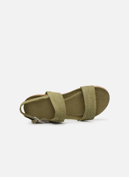 Sandali e scarpe aperte Timberland Malibu Waves 2 Band Sandal Verde immagine sinistra