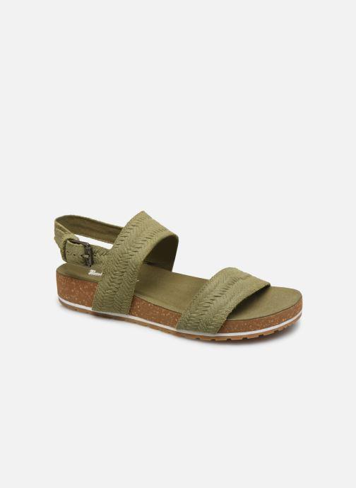 Sandali e scarpe aperte Timberland Malibu Waves 2 Band Sandal Verde vedi dettaglio/paio