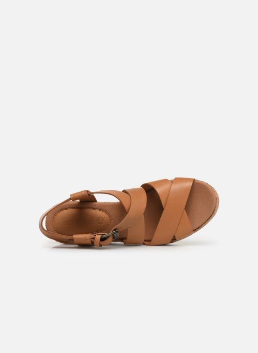 368393 Strap Timberland Ankle Nice Coast Sandalen beige qRY4vRw