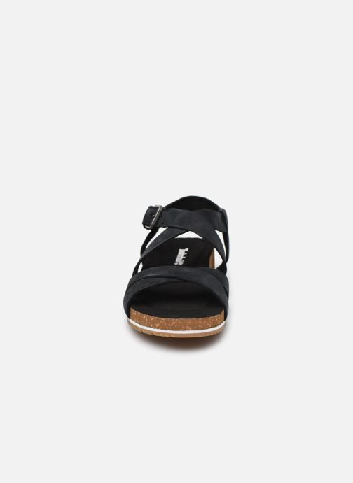 Sandalias Timberland Malibu Waves Ankle Negro vista del modelo