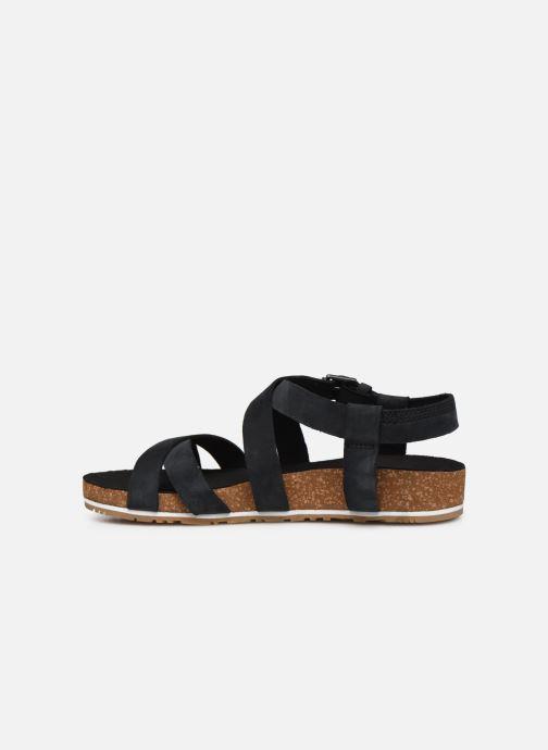 Sandales et nu-pieds Timberland Malibu Waves Ankle Noir vue face