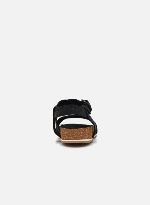 Sandales et nu-pieds Timberland Malibu Waves Ankle Noir vue droite