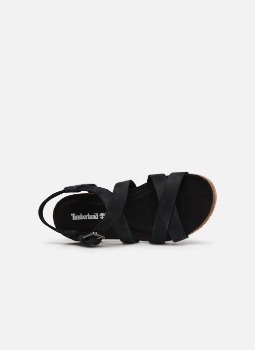Sandales et nu-pieds Timberland Malibu Waves Ankle Noir vue gauche