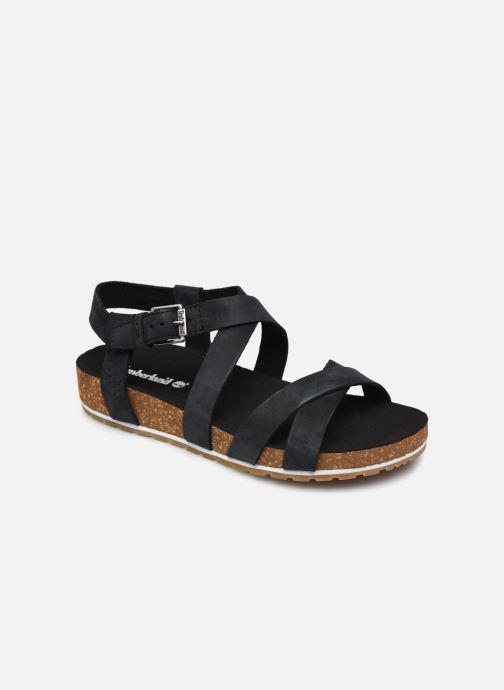 Sandales et nu-pieds Timberland Malibu Waves Ankle Noir vue détail/paire