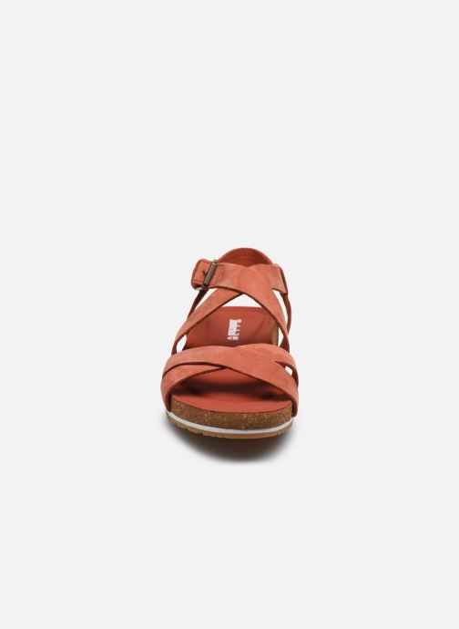 Sandals Timberland Malibu Waves Ankle Orange model view