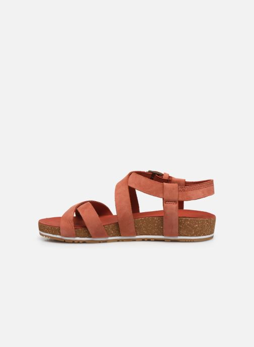 Sandals Timberland Malibu Waves Ankle Orange front view