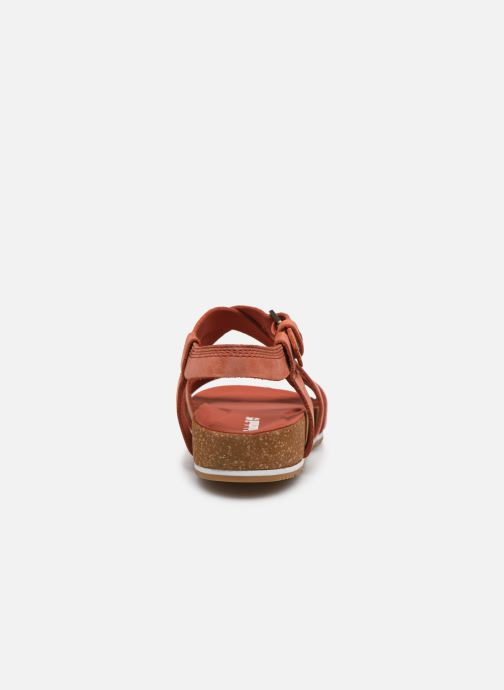 Sandals Timberland Malibu Waves Ankle Orange view from the right