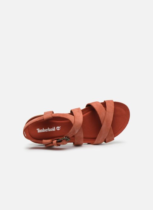 Sandals Timberland Malibu Waves Ankle Orange view from the left