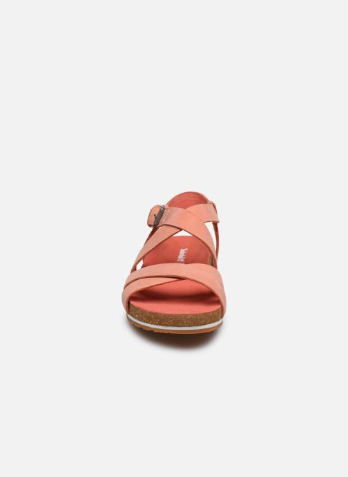 Sandals Timberland Malibu Waves Ankle Pink model view