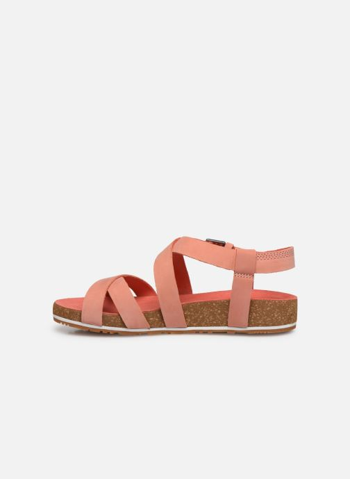 Sandals Timberland Malibu Waves Ankle Pink front view
