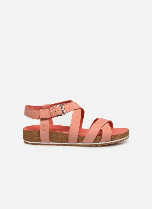 Sandals Timberland Malibu Waves Ankle Pink back view