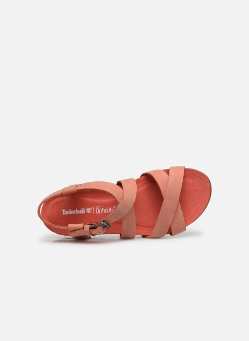 Sandals Timberland Malibu Waves Ankle Pink view from the left