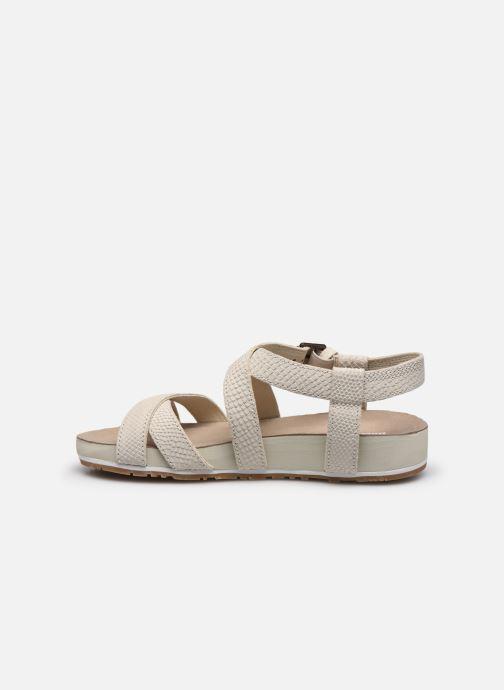 Sandales et nu-pieds Timberland Malibu Waves Ankle Beige vue face