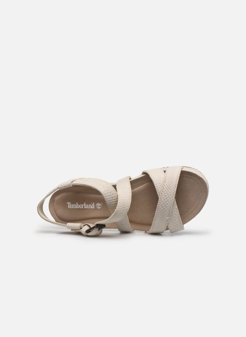 Sandales et nu-pieds Timberland Malibu Waves Ankle Beige vue gauche