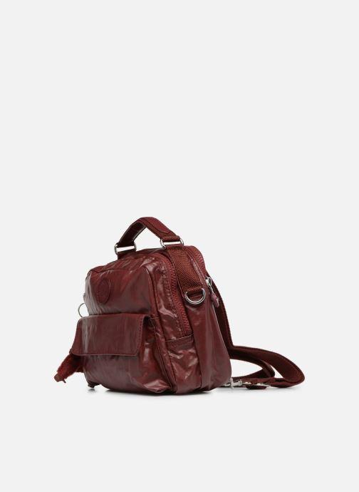 Bolsos de mano Kipling Candy Rojo vista del modelo