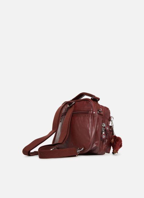 Handtaschen Kipling Candy rot ansicht von rechts